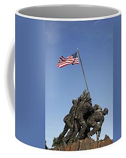 Raising The Flag On Iwo - 799 Coffee Mug