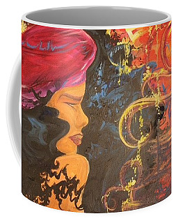 Raspberry Beret Coffee Mug