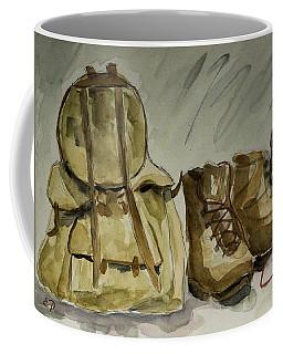 Back From Hiking Coffee Mug by Elise Palmigiani