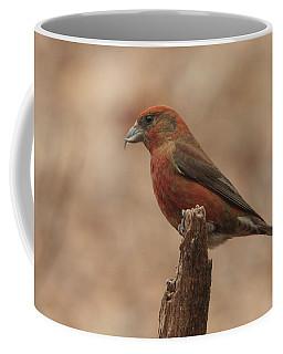 Red Crossbill Coffee Mug