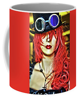 Coffee Mug featuring the photograph Red by Newel Hunter
