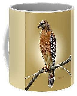 Red Shoulders Coffee Mug