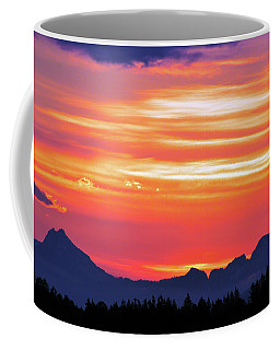 Red Sunrise Coffee Mug