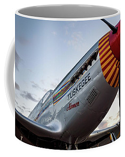 Red Tail At Dusk - 2017 Christopher Buff, Www.aviationbuff.com Coffee Mug