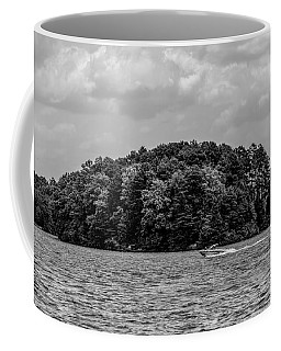 Relaxing On Lake Keowee In South Carolina Coffee Mug