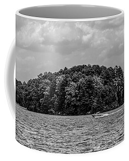 Relaxing On Lake Keowee In South Carolina Coffee Mug