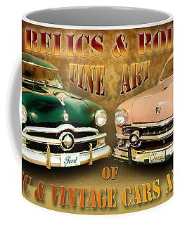 Relics And Rods Coffee Mug
