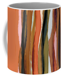 Coffee Mug featuring the painting Ribbons by Bonnie Bruno
