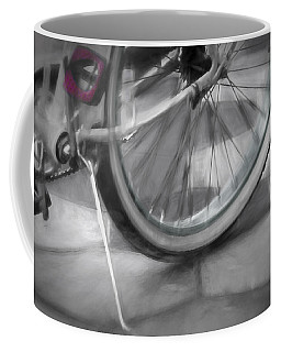 Coffee Mug featuring the photograph Ride With Me by Carolyn Marshall