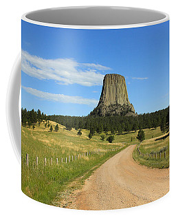 Road To The Tower Coffee Mug