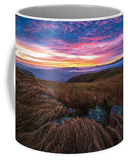 Roan Mountain Sunrise Coffee Mug
