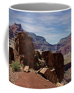 Rock Formations In The Grand Canyon  Coffee Mug