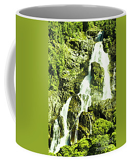 Rocky Mountain Waterfall Coffee Mug