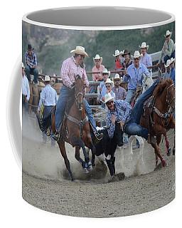 Rodeo Steer Wrestling 3 Coffee Mug