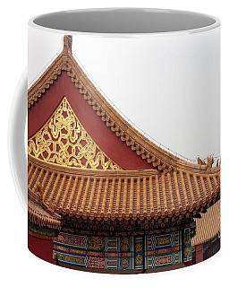 Roof Forbidden City Beijing China Coffee Mug