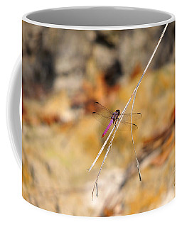 Coffee Mug featuring the photograph Fuchsia Fly by Al Powell Photography USA