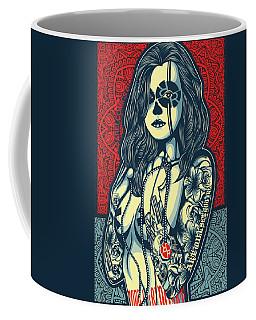 Rubino Cat Woman Coffee Mug