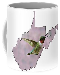 Ruby-throated Hummingbird  Beautiful Coloring Coffee Mug