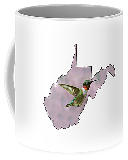 Ruby-throated Hummingbird  Beautiful Coloring Coffee Mug