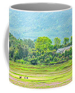 Rural Scenery In Spring Coffee Mug