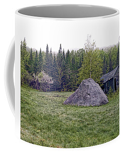Coffee Mug featuring the photograph Rustic Remnant by Richard Bean