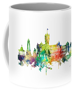 Rutherglen Scotland Skyline Coffee Mug