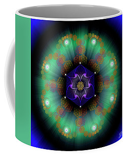 Sacred Geometry 638 Coffee Mug by Endre Balogh
