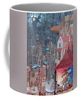 Saga Of The City Of Zeppelins Coffee Mug