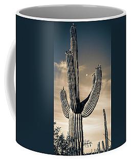 Saguaro In Bloom Coffee Mug