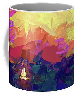Sailing Coffee Mug by James Bethanis