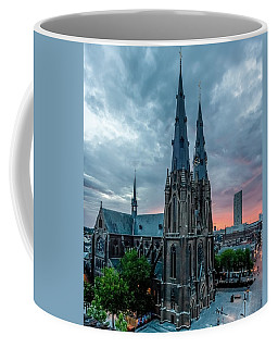 Saint Catherina Church In Eindhoven Coffee Mug by Semmick Photo