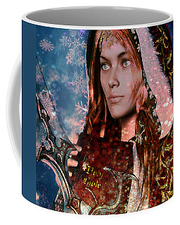 Saint Dymphna Coffee Mug by Suzanne Silvir
