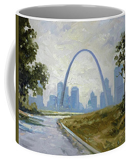 Saint Louis Panorama Coffee Mug