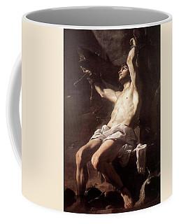 Saint Sebastian By Mattia Preti Coffee Mug