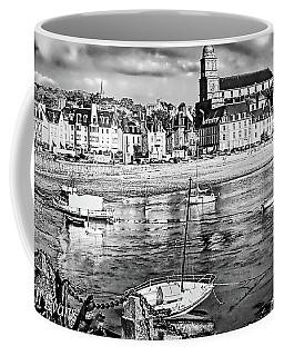 Coffee Mug featuring the photograph Saint Servan Anse by Elf Evans