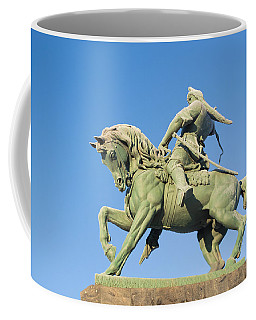 Salavat Yulaev Ufa Russian Hero Coffee Mug by John Williams