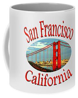San Francisco California Design Coffee Mug
