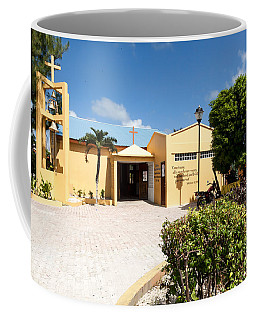 San Pedro Roman Catholic Church Coffee Mug by Lawrence Burry