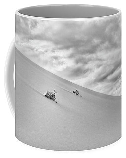 Coffee Mug featuring the photograph Sand And Clouds by Hitendra SINKAR