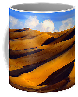 Sand Dune Curves Coffee Mug by Scott Mahon
