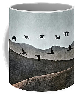 Sandhills In Silhouette Coffee Mug