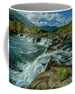Sandstone Falls New River Coffee Mug