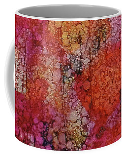 Coffee Mug featuring the painting Sangria Ink #16 by Sarajane Helm