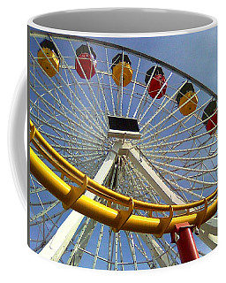 Santa Monica Pier Amusement Park Coffee Mug