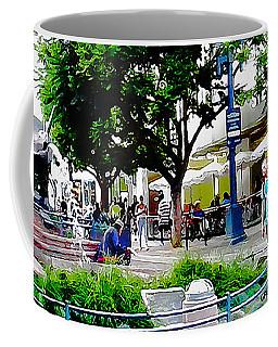 Santa Monica Promenade Coffee Mug