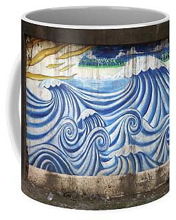 Say Hello Wave Goodbye Coffee Mug
