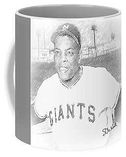 Willie Mays Coffee Mug