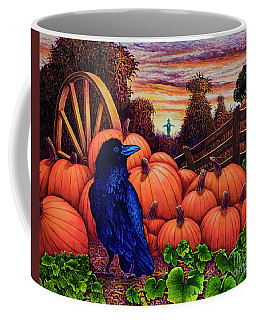 Scarecrow Coffee Mug by Michael Frank