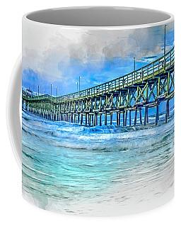 Sea Blue - Cherry Grove Pier Coffee Mug