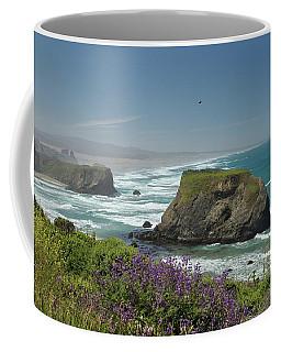 Sea Stacks And Surf Coffee Mug